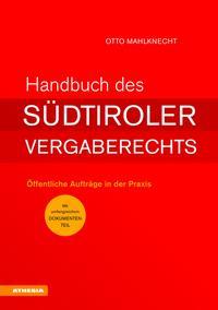 Handbuch des Südtiroler Vergaberechts