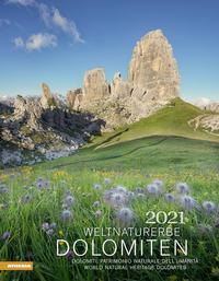 Weltnaturerbe Dolomiten Kalender 2021