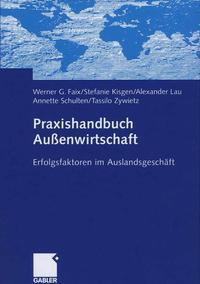 Cover Praxishandbuch Außenwirtschaft