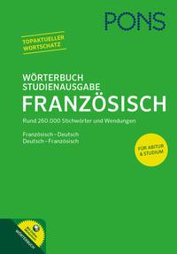 Pons Wörterbuch Studienausgabe Französisch Gebundenes Buch